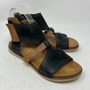 Miz Mooz Tamsyn Leather Cut-out Sandals